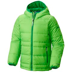 Columbia Youth Boy`s Gold 550 Turbodown Hooded Down Jacket Image
