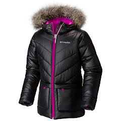 Columbia Youth Girl`s Katelyn Crest Mid Insulated Hooded Jacket Image