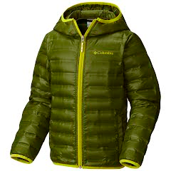 Columbia Youth Boy's Flash Forward Hooded Down Jacket Image