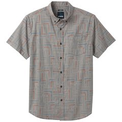 Prana Men's Broderick Short Sleeve Slim Shirt Image