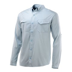 Huk Men's Tide Point Long Sleeve Shirt Image
