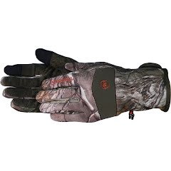 Manzella Men's White Tail Bow ST Touch Glove Image