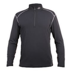 Hot Chillys Men`s MTF 4000 Zip-T Image