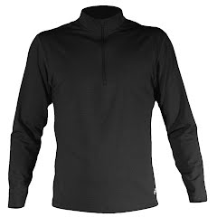 Hot Chillys Mens Micro Elite Chamois Zip T Image