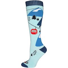 Hot Chillys Women's Gondola Mid Volume Socks Image