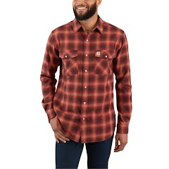 Carhartt M Rugged Flex Hamilton Snap-Front Flannel Image