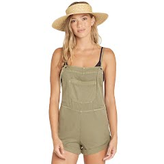 Billabong Women's Wild Pursuit Short Overalls Image