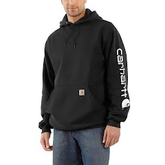 Carhartt Men's Midweight Hooded Logo Sweatshirt Image