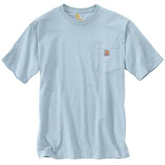 Carhartt Men's Workwear Pocket T-Shirt - Extended Sizes Image