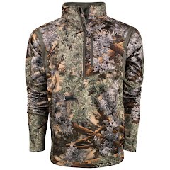 King's Camo Men's Hunter Series 1/4 Zip (Extended Sizes) Image
