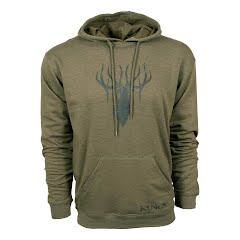 King's Camo King's Triblend Fleece Hoodie Image