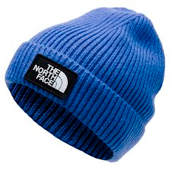 The North Face Youth TNF Logo Box Cuffed Beanie Image