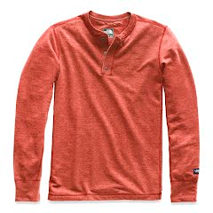 The North Face Men's Long Sleeve TNF Terry Henley Image