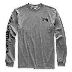 The North Face Men's Long Sleeve Brand Proud Cotton Tee Image