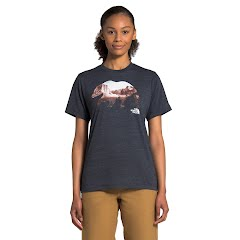 The North Face Women's Short-Sleeve Bearinda Tri-Blend Tee Image