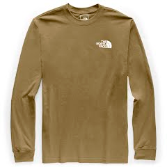 The North Face Men's Long Sleeve Red Box Tee Image