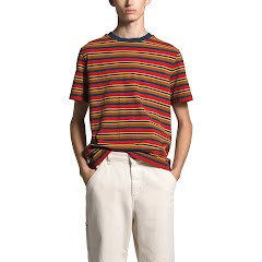 The North Face Men's Berkeley Stripe Short Sleeve Tee Image