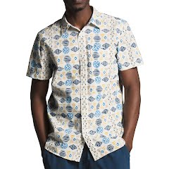 The North Face Men's Short Sleeve Baytrail Pattern Shirt Image