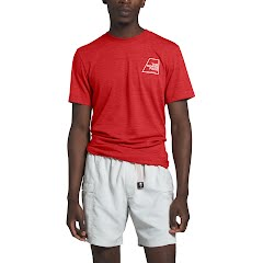 The North Face Men's Short Sleeve Logo Marks Tri-Blend Tee Image