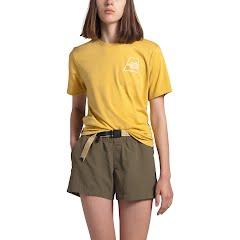 The North Face Women's Short Sleeve Logo Marks Tri-Blend Tee Image