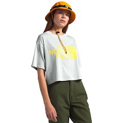 The North Face Women's Short Sleeve Half Dome Cropped Tee Image