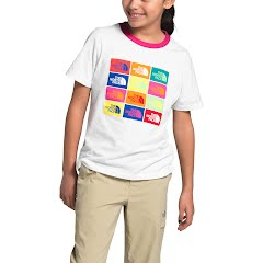 The North Face Girls' Short Sleeve Graphic Tee Image