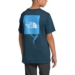 The North Face Boys' Short Sleeve Tri-Blend Tee Image