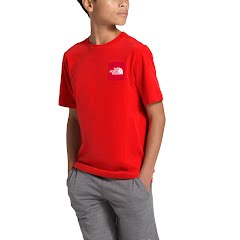 The North Face Boys' Short Sleeve Red Box Tee Image