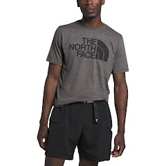 The North Face Men's Short Sleeve Half Dome Tri-Blend Tee Image