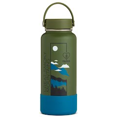 Hydro Flask National Park Foundation Limited Edition 32 oz Wide Mouth Water Bottle Image