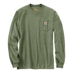 Carhartt M Workwear Pocket L/S Tee EXT- Sizes Image