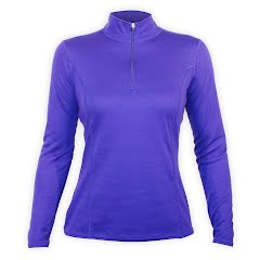 Hot Chillys Women`s Pepper Bi-Ply Zip-T Image
