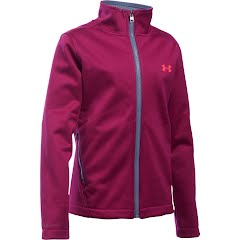 Under Armour Mountain Youth Girl's UA ColdGear Infrared Softershell Image