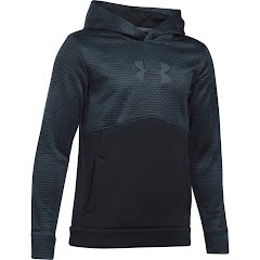 Under Armour Youth Boy`s UA Storm Armour Fleece Mid Logo Hoodie Image
