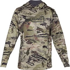 Under Armour Men's UA Tech Terry Camo Hoodie Image