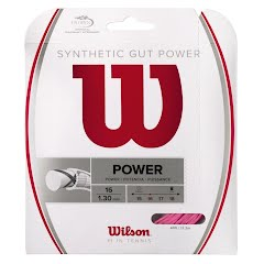Wilson Sporting Goods Synthetic Gut Power Tennis String - Set Image