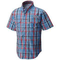 Columbia Boys Youth Super Bonehead Short Sleeve Shirt Image