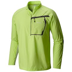 Columbia Men`s PFG Force 12 Zero Half Zip Shirt Image