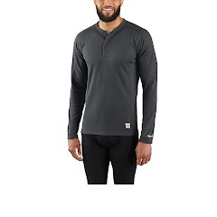 Carhartt M BASE FORCE MIDWEIGHT CLASSIC HENLEY TOP Image