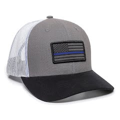 Outdoor Cap Americana Flag Strip Hat Image