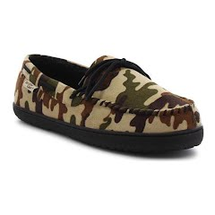 Western Chief Men's Camo Moc Slippers Image