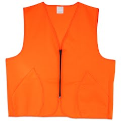 World Famous Blaze Orange Safety Vest Image