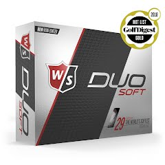 Wilson Wilson Staff Duo Soft Golf Balls 12 Pack Image