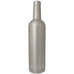 Eco Vessel Vine Triple Insulated Stainless Steel Wine Bottle Image