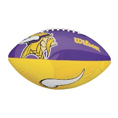 Wilson NFL Team Logo Junior Size Football Image