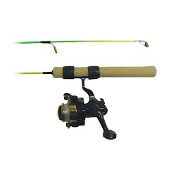 Ht Enterprises 25 Light Action Neon Ice Extreme Combo Rod and Reel Image