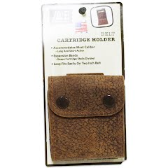 Aa And E Leather Distressed Leather Belt Cartridge Holder (10 Round) Image
