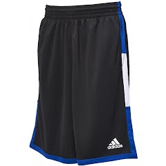 Adidas Men's Run the Court Basketball Shorts Image