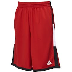 Adidas Men`s Run the Court Basketball Shorts Image