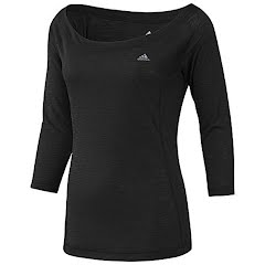 Adidas Ultimate Twist Slub Cover-Up 3/4 Sleeve Top Image